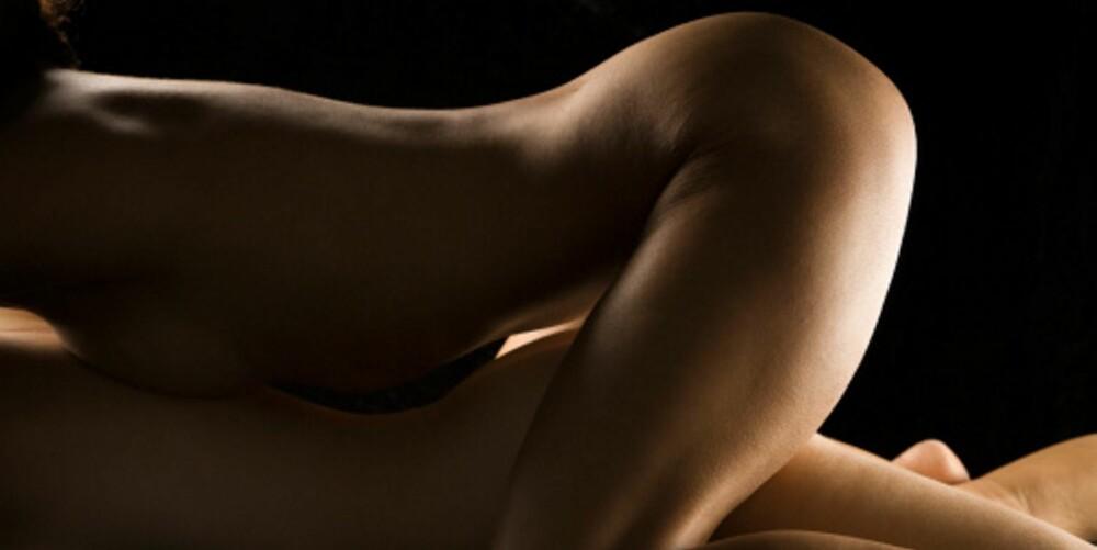 GODT GRUNNLAG:  Den naturlige kvinnelige lubrikasjonen som oppstår ved opphisselse er en forutsetning før man går videre.