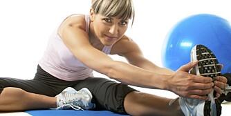 VIKTIG TRENING: Med alderen merkes kroppens «materialtretthet». Men kroppene våre har godt av trening, også når det gjør litt vondt.