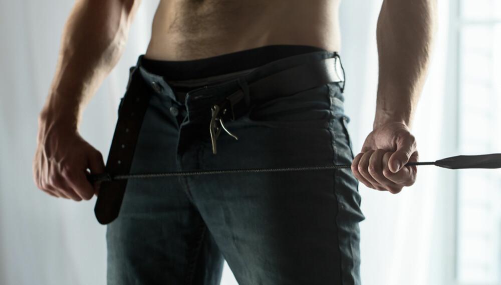 BDSM: Spenning og frykt, men tillit er stikkord for denne type sex. ILLUSTRASJONSFOTO: Getty Images