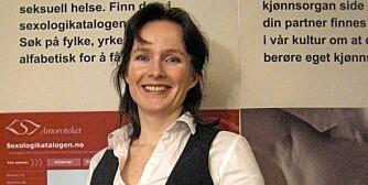 SEXOLOG: Stine Kühle-Hansen er sexologisk rådgiver og leder for Amoroteket, Norges første sexologiske museum.