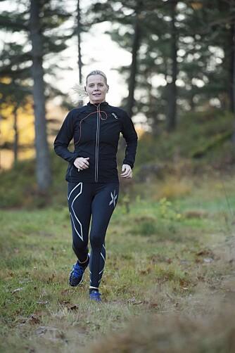 FRISKERE MED TRENING: I dag er Gry en sprekere, sunnere og friskere trebarnsmor takket være trening.