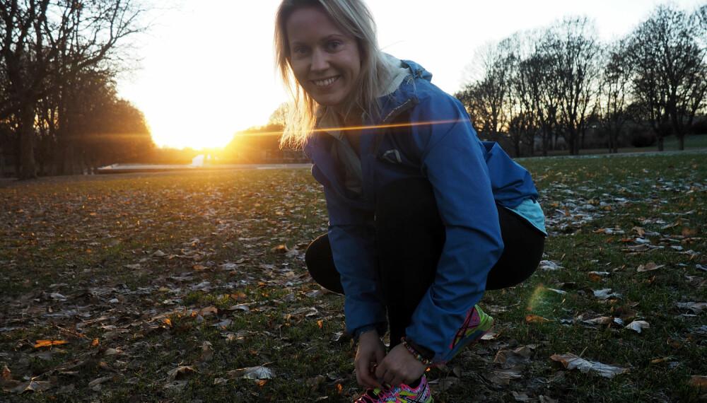 TRENINGSMOTIVASJON: I oktober tok hun Norgesrekord i utstyrsfri markløft i -63kg-klassen
