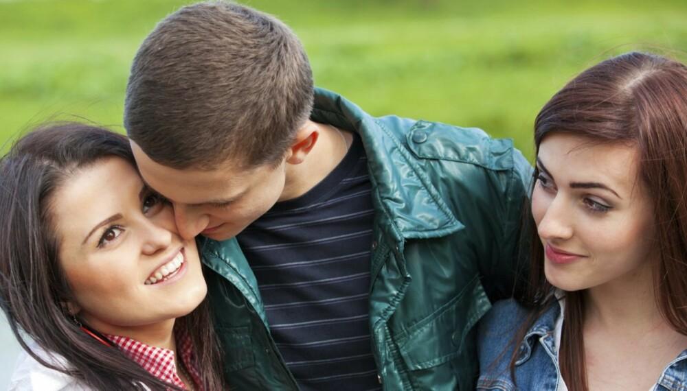 FØRSTEVALGET: Husk at de kjekkeste gutta ofte er vant til at jentene kommer til dem, så da blir det opp til deg om du tar sjansen eller ikke.