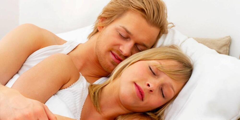 SKJE: Skjestilling er en intim og trygghetsskapende stilling.