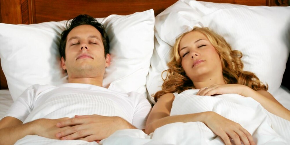 INGEN KRISE: Det trenger ikke bety at forholdet er på sammenbruddets rand selv om dere sover på hver deres side i senga.