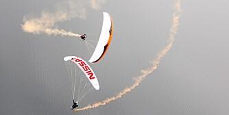 Landslaget i paragliding
