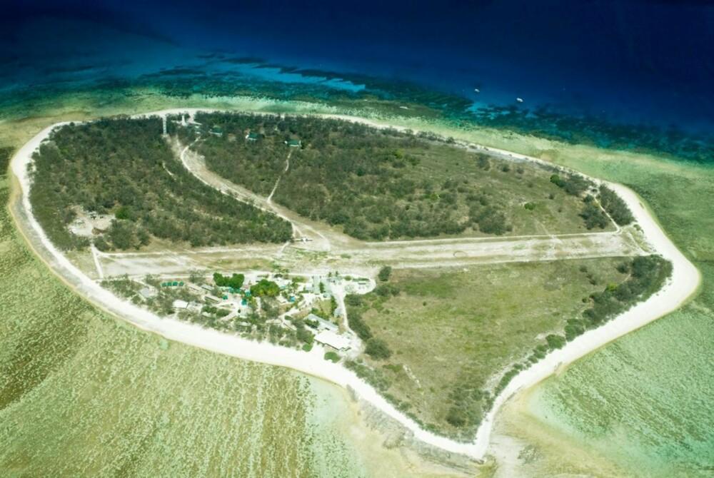 KORALL: Great Barrier Reef er verdens største korallrev og ligger utenfor Queensland på østkysten av Australia.