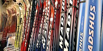 TRE TYPER: Hvordan du går på ski avgjør om du skal ha turski, treningsski eller konkurranseski. Prismessig er det liten forskjell mellom butikkene.