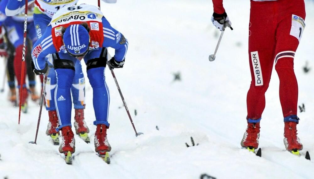 HA VETT I SKILØYPA: Petter Northug og gutta i Tour de Ski vet hvordan man oppfører seg i skiløypa. Men det er ikke alltid det ser sånn ut. Vi har snakket med ekspertene.