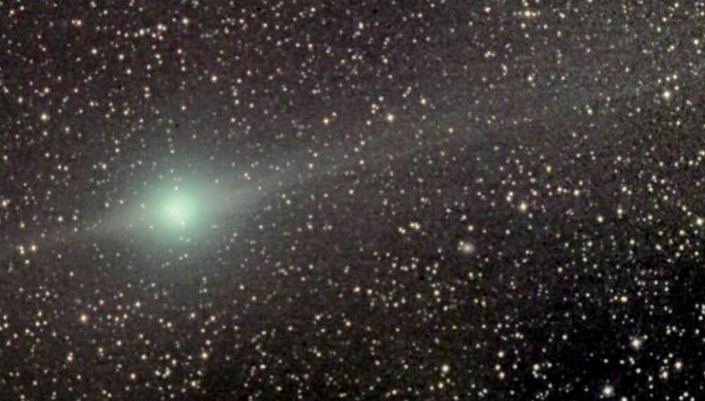 LULIN: Kanskje du er heldig og får øye på denne kometen i slutten av februar.