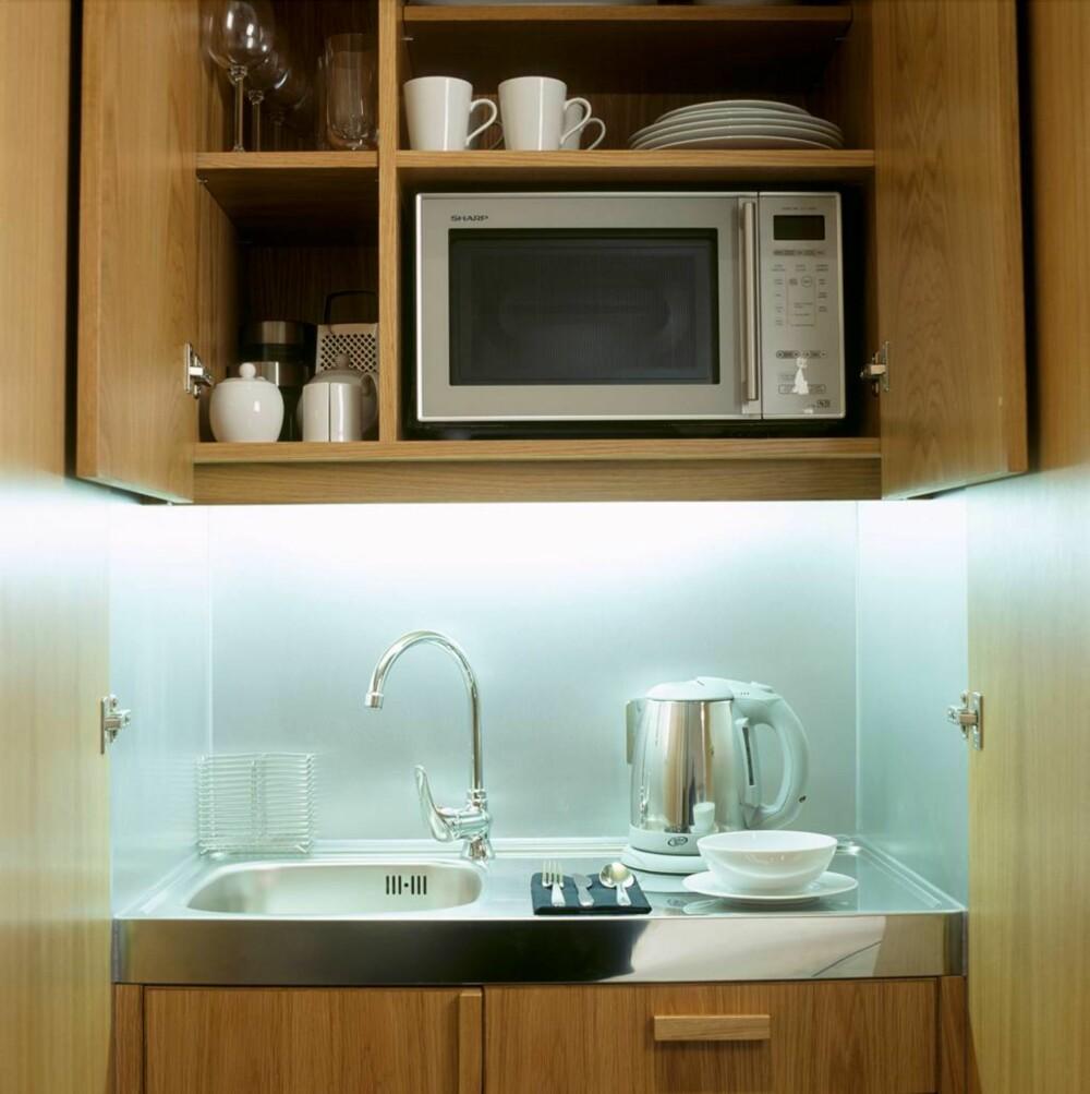 FAMILIEVENNLIG: Hotell med minikjøkken: Base2Stay.