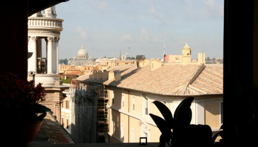 HISTORISK: Utsikten fra Hotel Mozart