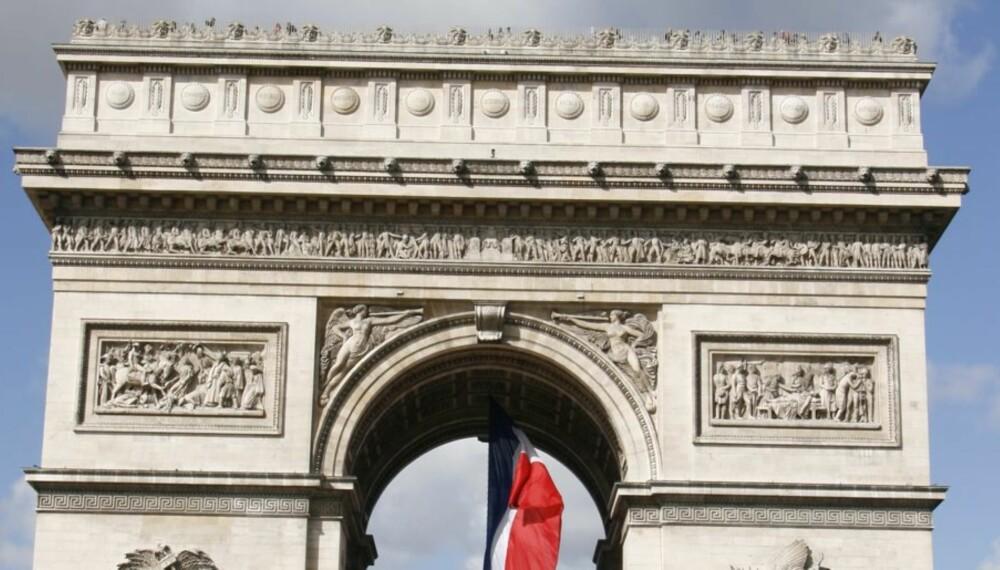 Triumfbuen i Paris.