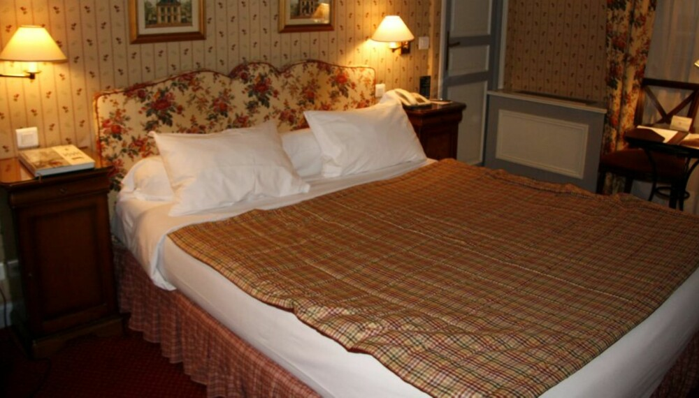 CHABBY CHICK: Fransk stil hos Hotel du Pantheon.
