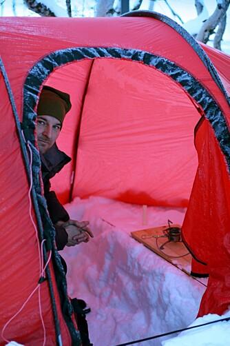 VINTERLIV: Skal du bruke teltet året rundt under tøffe forhold, er det viktig å velge et telt du kan stole på.