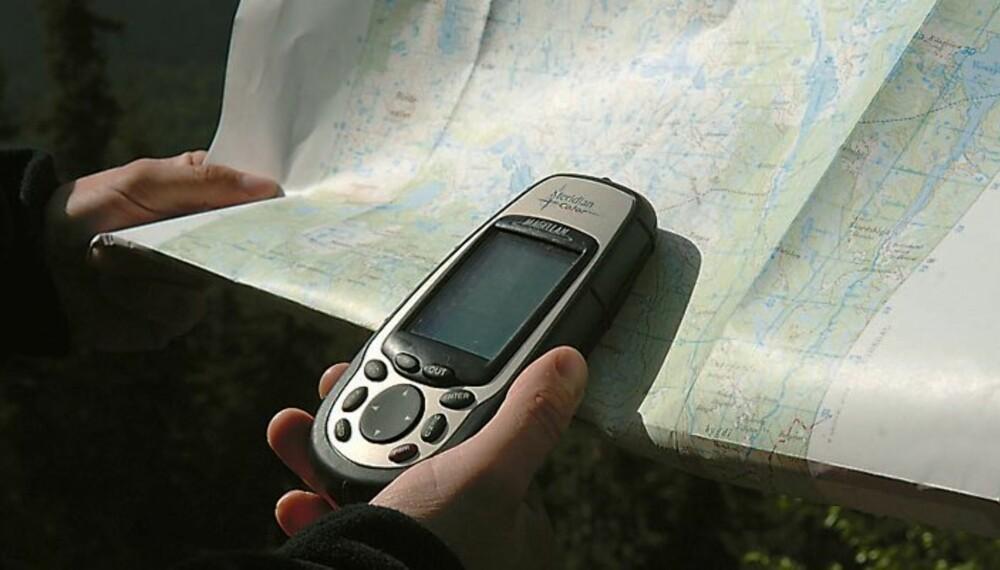 gps posisjon kart Slik bruker du GPS   Vilt og Variert gps posisjon kart