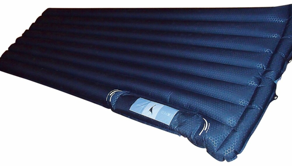 Bare ut Test av 11 oppblåsbare liggeunderlag - Tester ZM-97