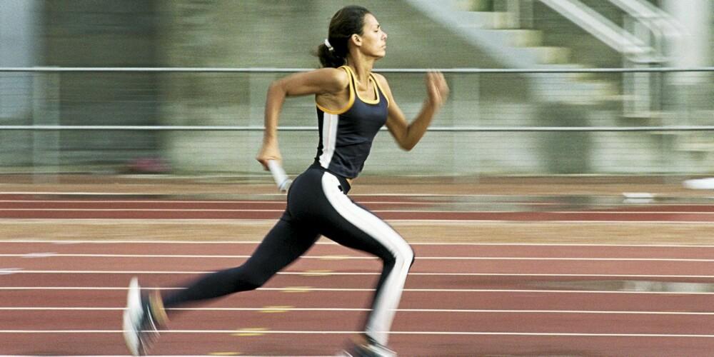 FLATT: En løpebane er perfekt for intervalltrening