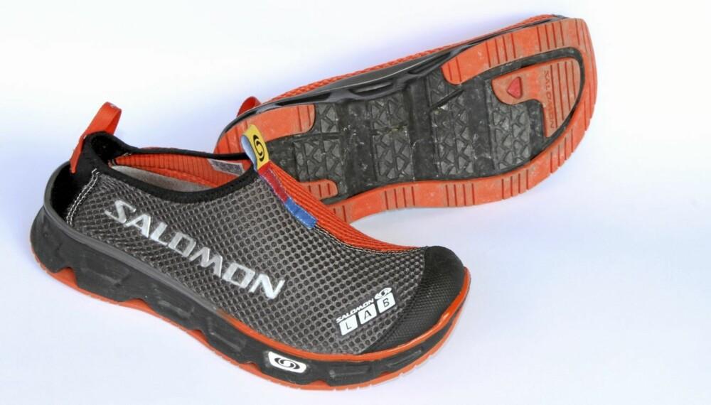BEHAGELIGE: Meget behagelige sko til varme dager og etter trening, sier testpanelet.