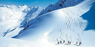 SKI-NAVIGERING: Satski er nøkkelen til å kunne navigere seg gjennom skiløypene.
