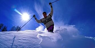 ALPENE I FEBRUAR: Du kan fly billig både til Chambéry og Salzburg og derfra ta deg videre med leiebil til en rekke flotte skisteder i alpene.