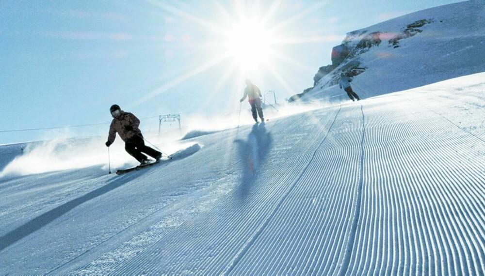 ALPEFAVORITT: Bli med til Alpefavoritten Bad Gastein i Østerrike.