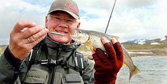 KVALITETSBEVISST: To ørretvann synes Reidar Korsen, fra Gjøvik, ekstra om: Prestesteinsvatnet på Sognefjell og Bygdin i Øystre Slidre. Årsaken er enkel: Kvaliteten på fisken.