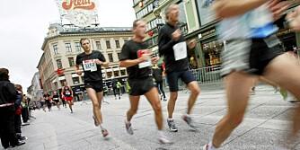 LØPEBØLGE: Norske menn veier i snitt 9 kg mer enn for 40 år siden. Nå skal vi løpe av oss kiloene - med eller uten sko.