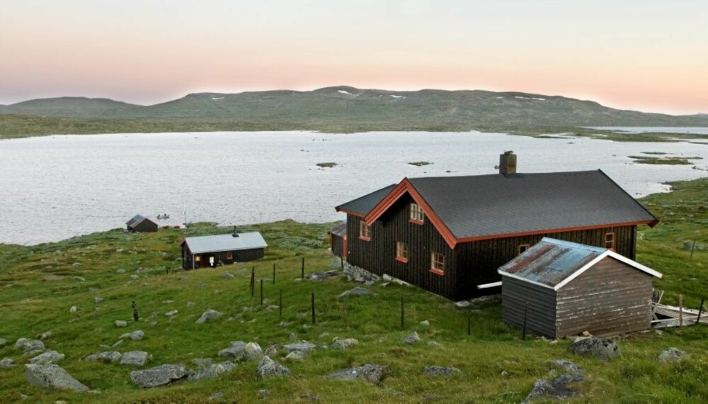 PERLE: Fiskevannet Skjerja er kjent for sine store fjellørreter, og omtales ikke sjelden som Hardangerviddas perle.