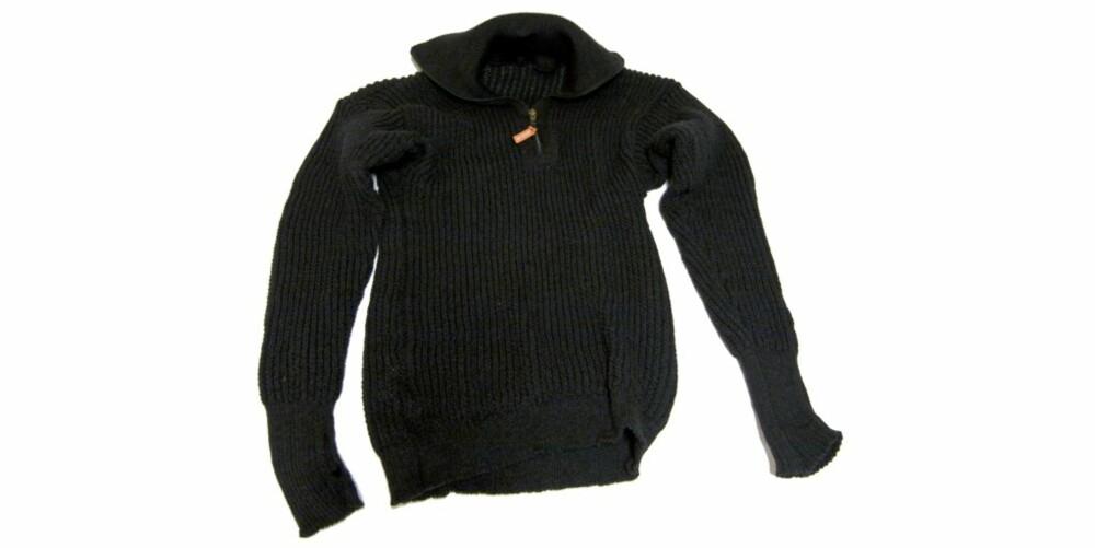 BRA I KULDA: Lanullva tykk 100 prosent ullskjorte med høy hals og tommelfingeråpning i håndleddsmansjett. Glimrende til rolige aktivityeter og i spesielt bra i kaldt vær. Elastik og god passform.