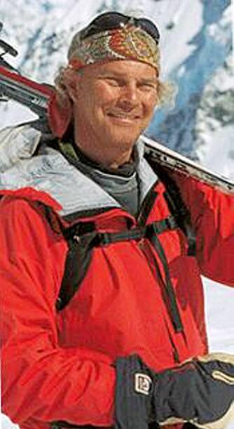 TRIVES I NORGE: Jimmy Petterson syns det er stas å stå på ski i Norge.