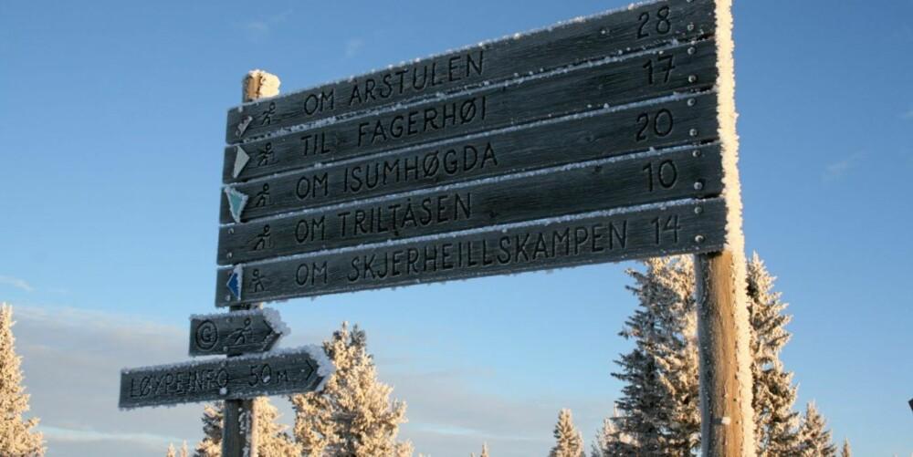 ISKALDT: Frosten har kommet til Gålå skisenter.