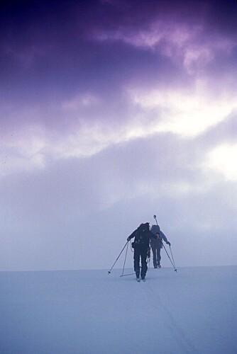 VILJE: Vinterfjellet er ingen spøk. Overlevelse handler 80 prosent om mental styrke, sier eksperten.