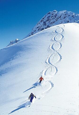 SKIKJØRERES DRØM: Satski er et nytt program som gjør det mulig å navigere i skiløypene.