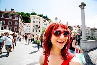Er det lørdag, finner du garantert Eva Avbelj ruslende rundt i gamlebyen. Dagens kupp er fra Zara og er hjerteformet. - Jeg bare måtte ha de brillene. Er de ikke kule? spør Eva.