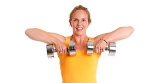 NAKKETRENING: En sterk nakke tåler for eksempel statisk arbeid bedre, slik at du unngår pc-nakken.