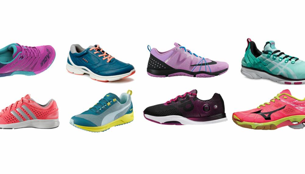 9cefa94e TEST AV INNETRENINGSSKO: Vi har testet åtte par sko for allsidig trening  innendørs. FOTO