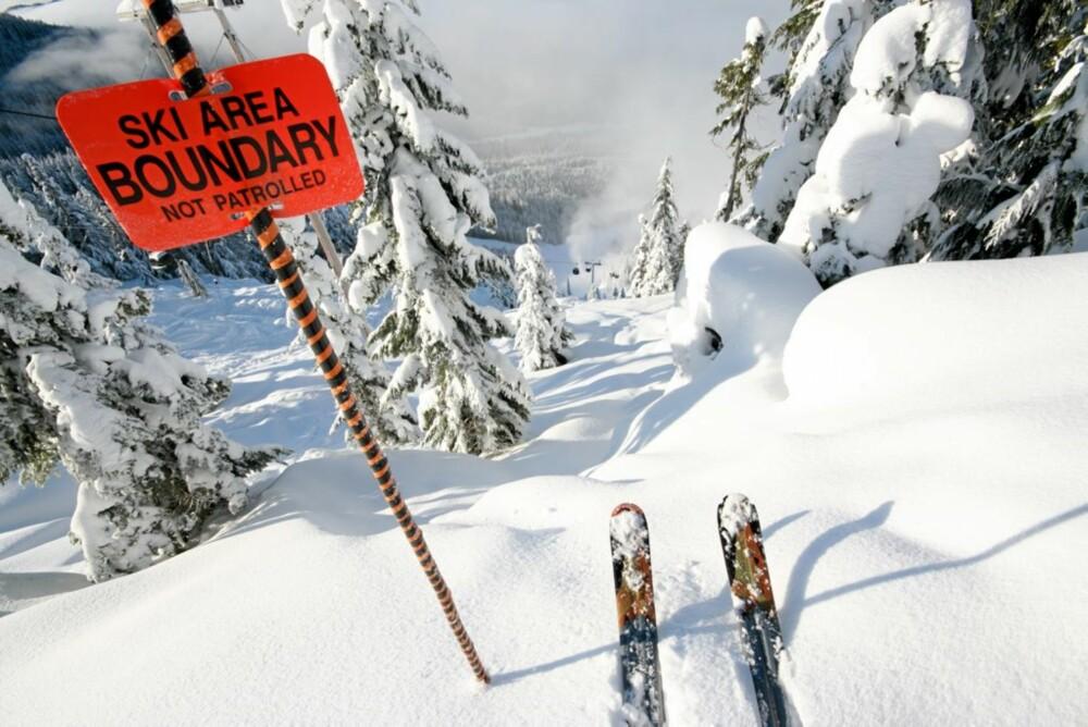 UTENFOR ALLFARVEI: I alpene trenger man ikke bare holde seg i løypene.