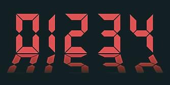 TALL: Mange sliter med å huske tallkombinasjoner, som pin-koder og telefonnummer.
