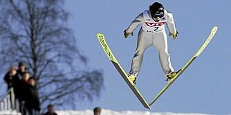 NM: Anette Sagen (18) hoppet 136,5 meter i OL-bakken på Lillehammer.