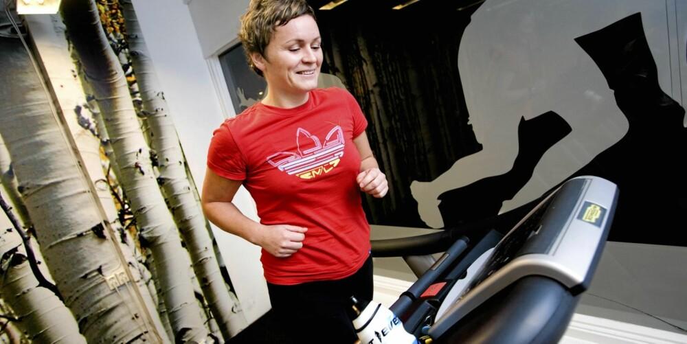 KVELDSTRENING: Når Ida Buknotten (34) er ferdig på trening, er det mange som allerede er i drømmeland.