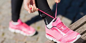 FULL OVERSIKT: Legger du en sensor i skoen, loggfører den økten for deg.