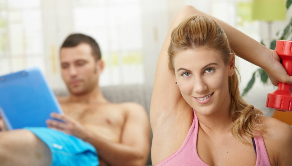 TRENINGSPLAN: Sjansene for å nå de målene man har satt seg øker dramatisk når man legger en treningsplan og følger den.