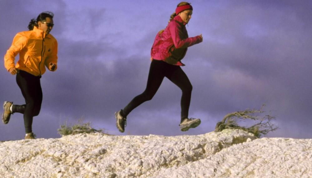 TERRENGLØPING: Det krever en del å trene seg opp, men du blir mye sprekere av å løpe i ulendt og tøft terreng.