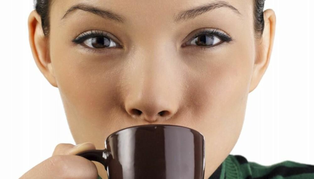 ESPRESSO: En kopp espresso eller vanlig kaffe kan forhindre at du blir støl etter trening.