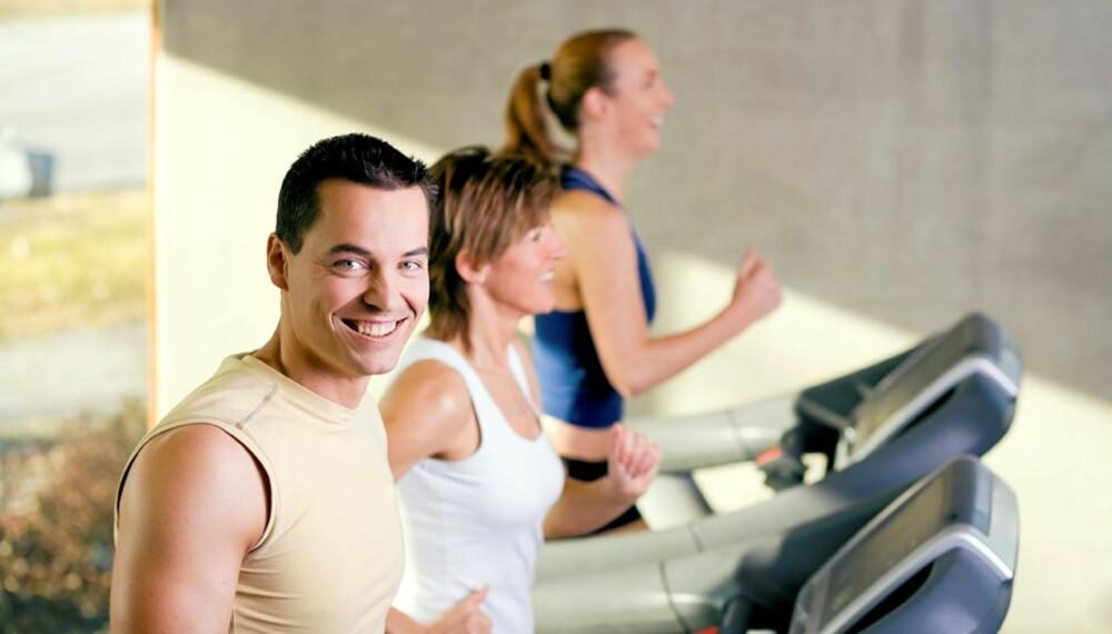 Når du har løpt to dager i uken i to uker, merker du at det begynner å bli deilig!