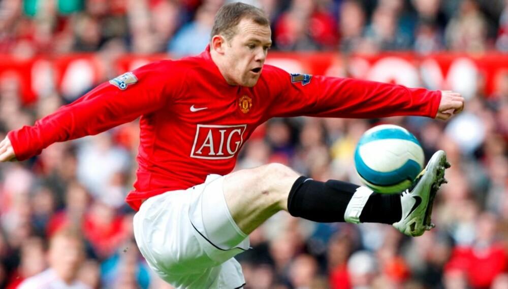 Wayne Rooney er en av svært mange fotballspillere som har slitt med bruddskade i foten.