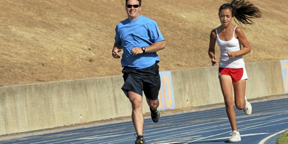 VARIASJON: - Ulike treningsøkter er smart, både for motivasjon og for fremgangen, sier Halvor Lauvstad.