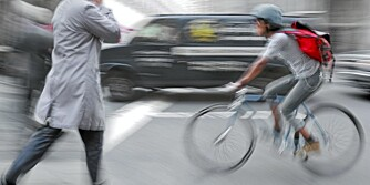 TRAFIKKFARLIG: Nær halvparten av alle ulykker med sykkel i trafikk, skjedde i kryss.