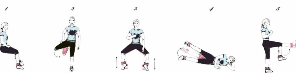 BEINHARDT: Dette er øvelsene Sarah Jessica Parker gjør for å styrke beina.